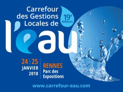 Carrefour des Gestions Locales de l'eau à Rennes